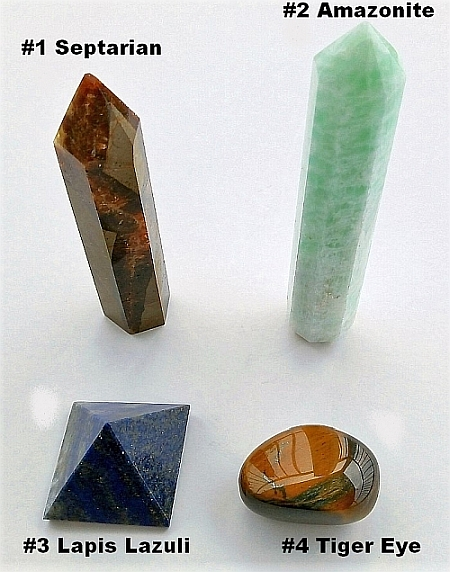 four crystals